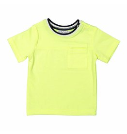 Dirkje Dirkje baby jongens neon t-shirt Fresh Space It Up