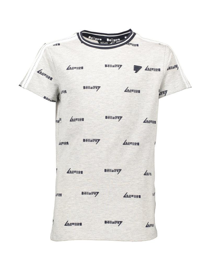 Bellaire Bellaire jongens t-shirt KarstB met aop logo
