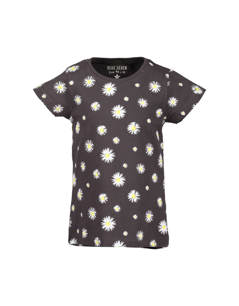 Blue Seven Blue Seven meisjes t-shirt FLOWERS