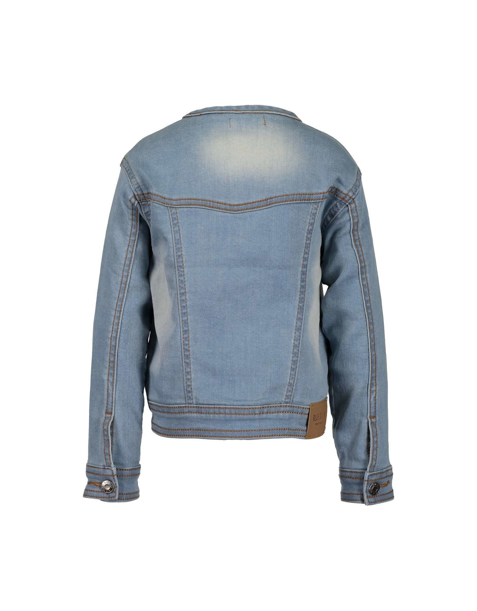 Blue Seven Blue Seven meisjes spijkerjack Blue Jeans