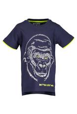 Blue Seven Blue Seven jongens t-shirt STAY WILD
