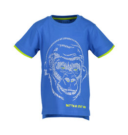 Blue Seven Blue Seven jongens t-shirt BETTER STAY WILD