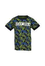 Blue Seven Blue Seven jongens t-shirt SNAKE