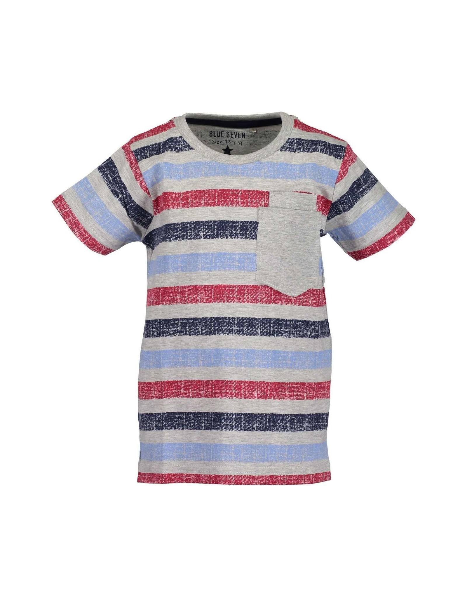 Blue Seven Blue Seven jongens gestreept t-shirt