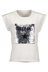 Blue Seven Blue Seven meiden wrijf t-shirt DREAMS