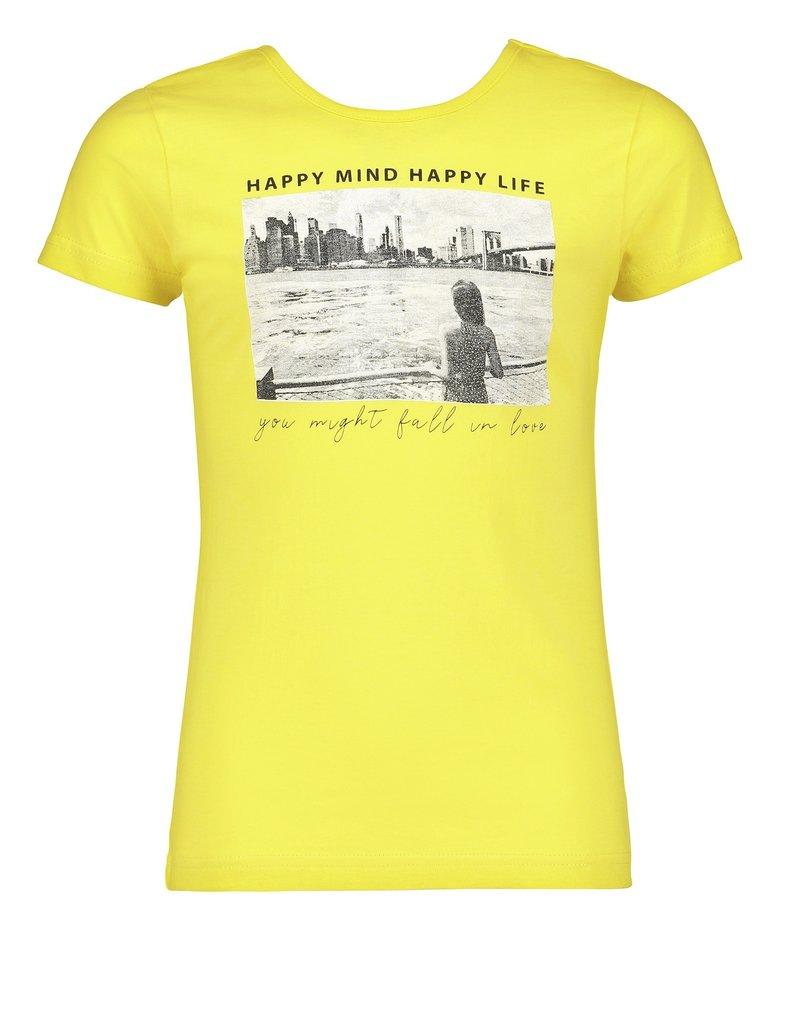 Blue Seven Blue Seven meiden t-shirt HAPPY MIND