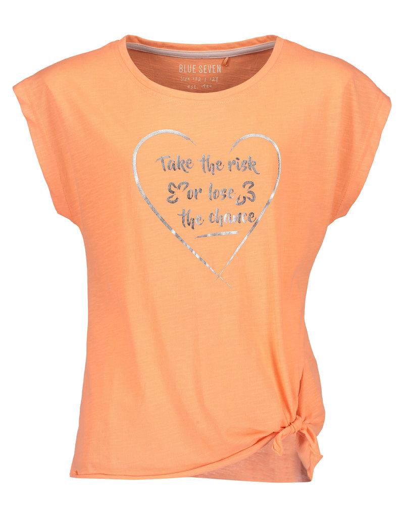 Blue Seven Blue Seven meiden t-shirt TAKE THE RISK