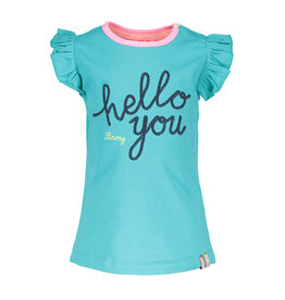 B.Nosy B.Nosy baby meisjes t-shirt Hello You