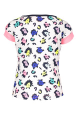 B.Nosy B.Nosy baby meisjes t-shirt met AO print achterkant