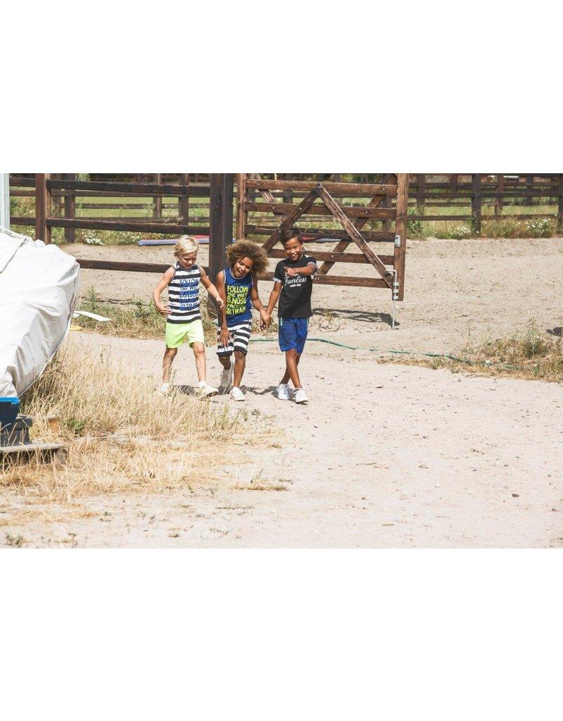 B.Nosy B.Nosy jongens korte joggingbroek met strepen