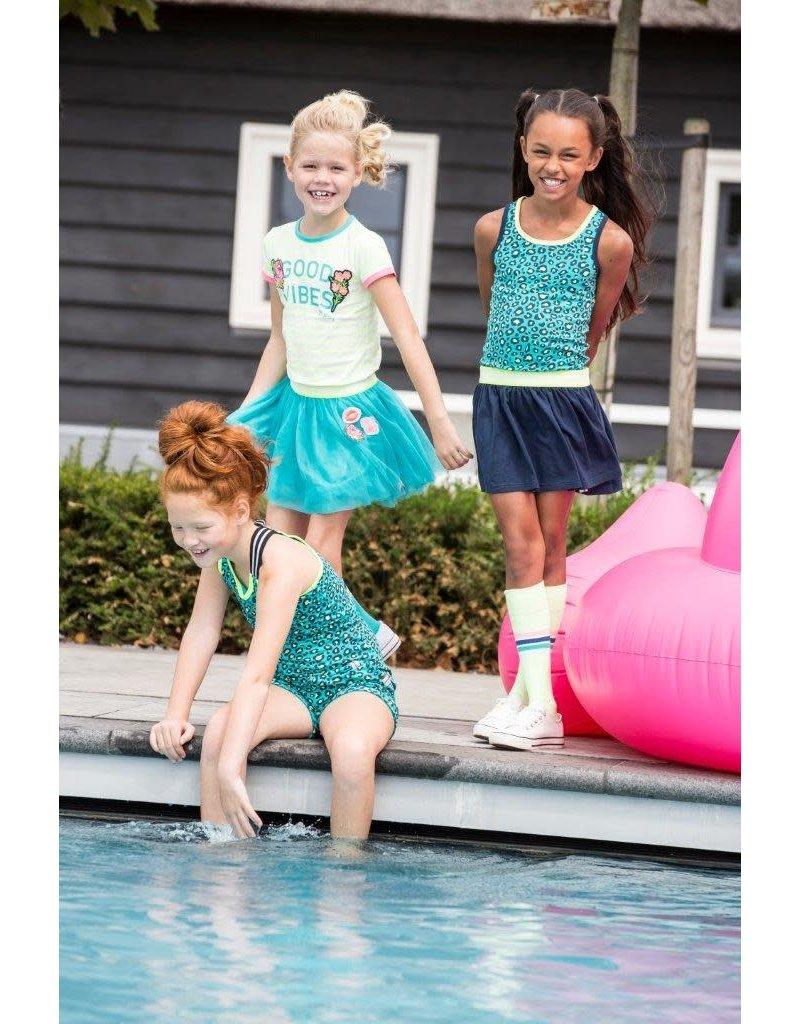 B.Nosy B.Nosy meisjes korte broek met panterprint