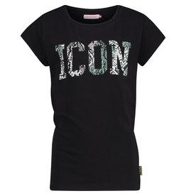 Vingino Vingino meiden t-shirt Black Haydel
