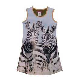 Lovestation22 Lovestation meisjes jurk Zebra