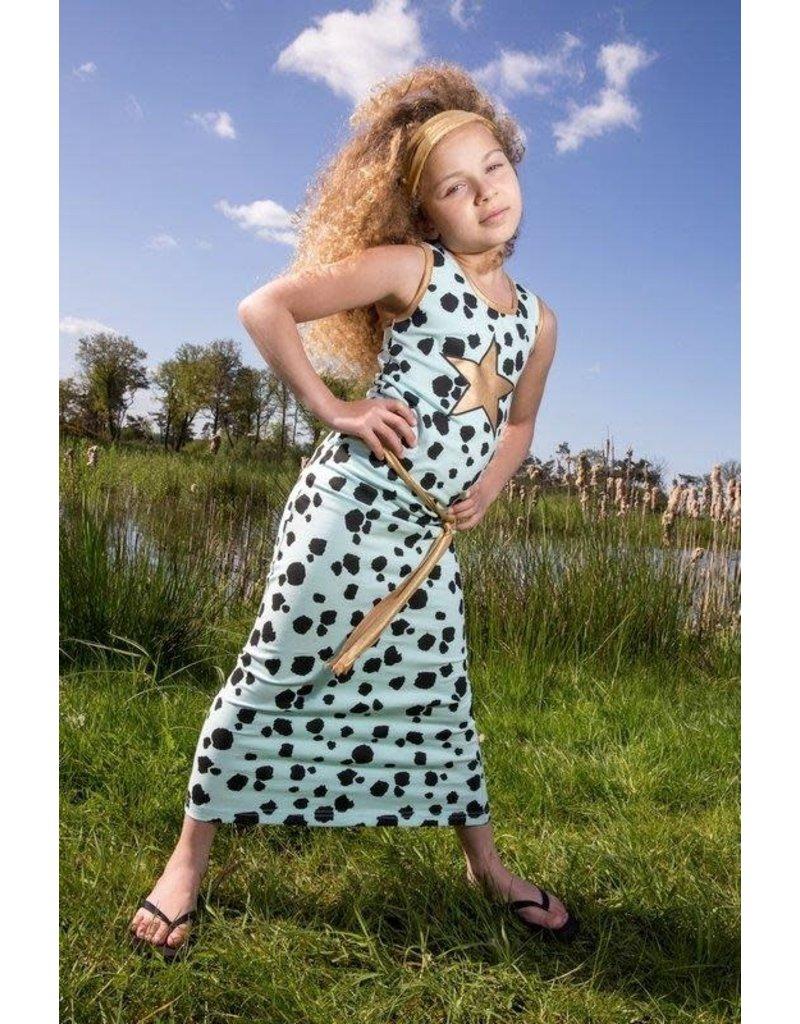 Lovestation22 Lovestation meisjes lange jurk Nora