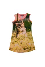 Lovestation Love Station meisjes mouwloze jurk Cat