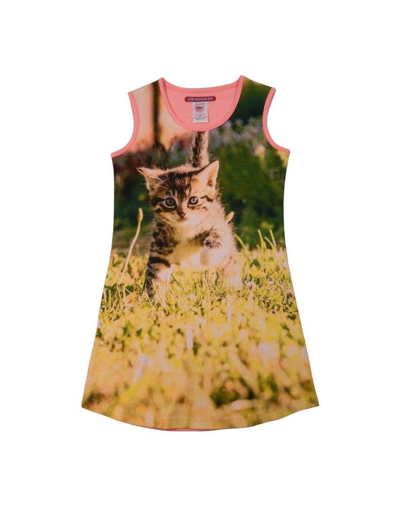 Lovestation22 Lovestation meisjes jurk Cat