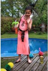 Lovestation22 Lovestation meisjes lange jurk Lola