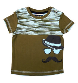 Legends22 Legends baby jongens t-shirt Mr Moustache