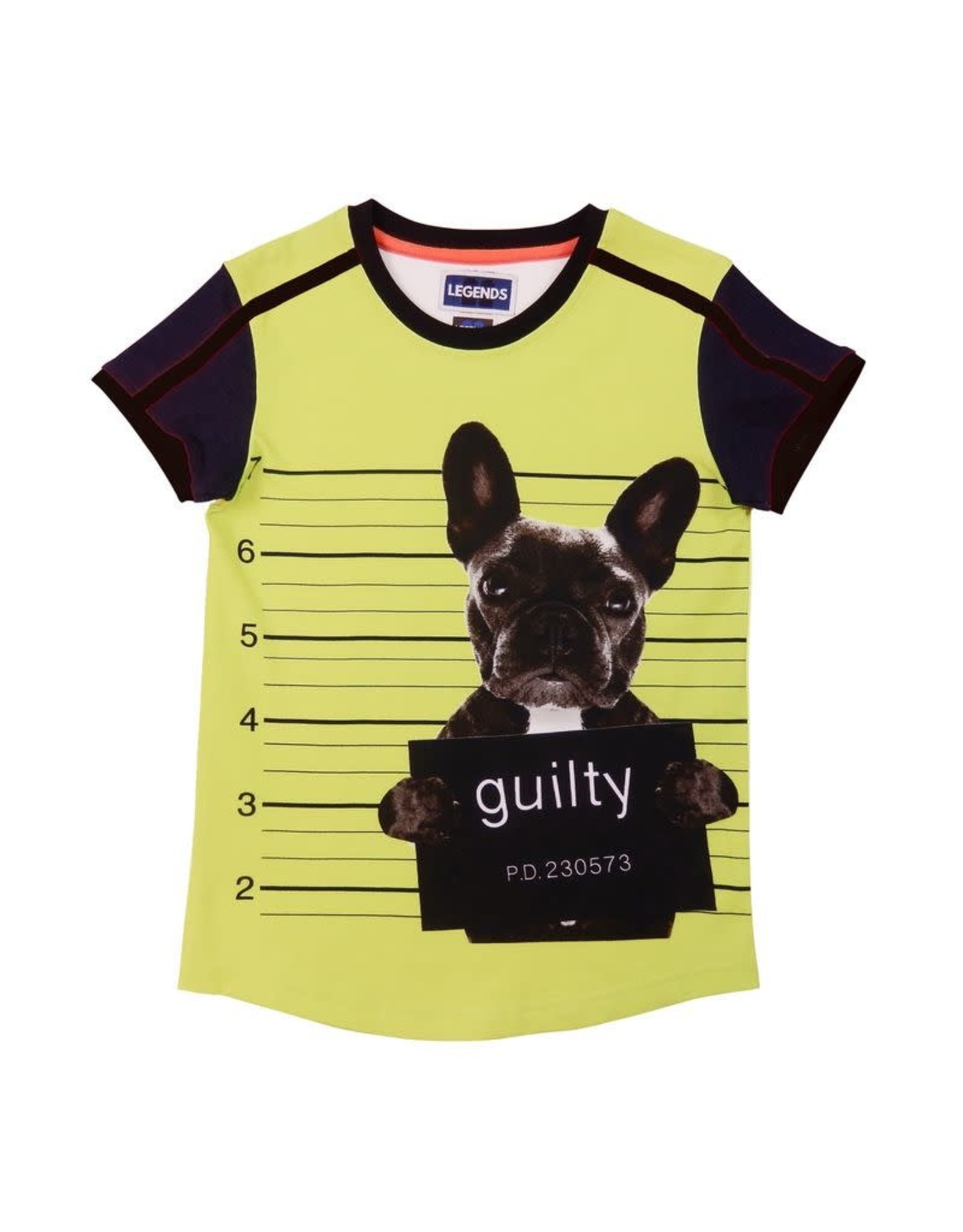 Legends22 Legends jongens t-shirt Guilty Bull-dog