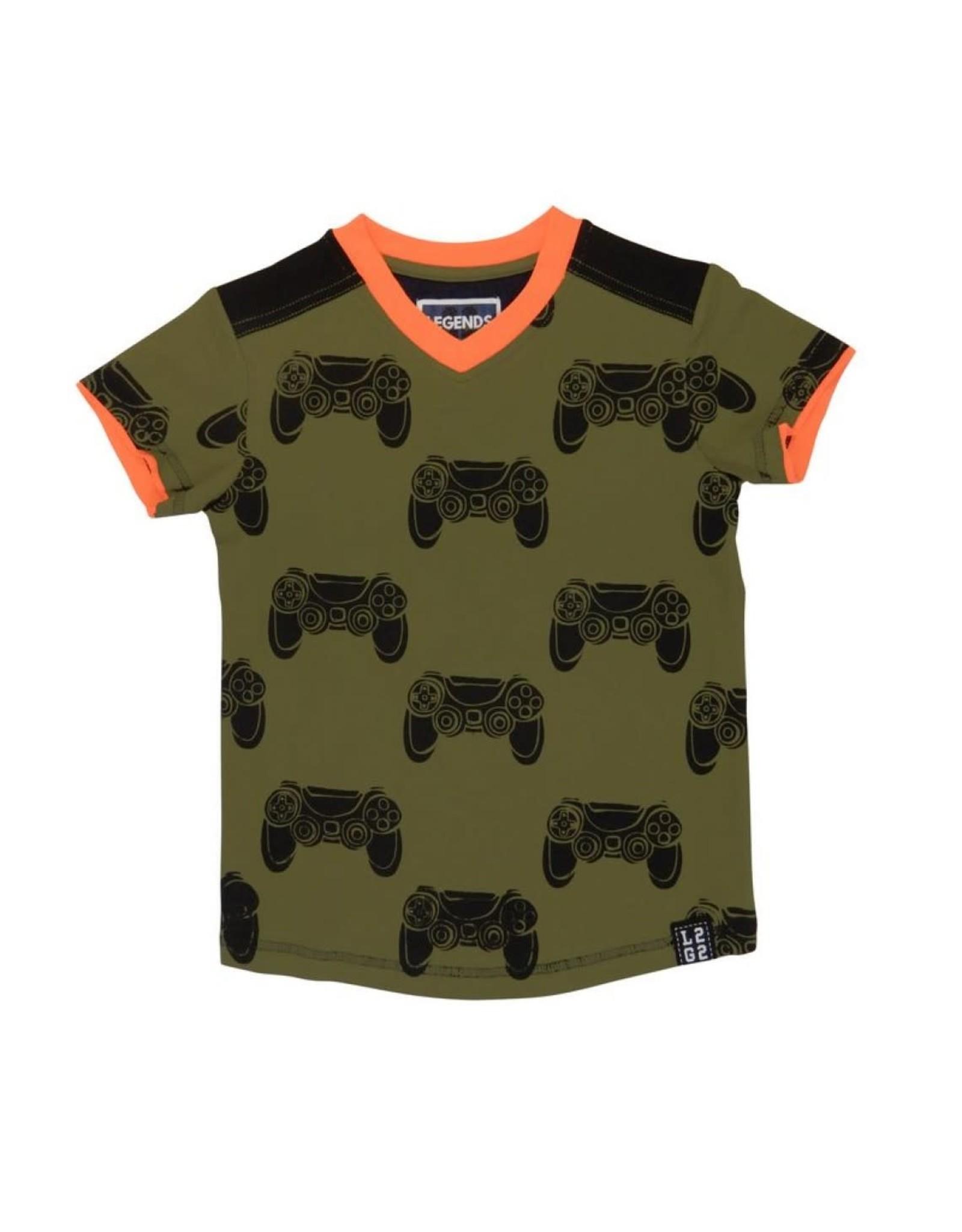 Legends22 Legends jongens t-shirt Controller