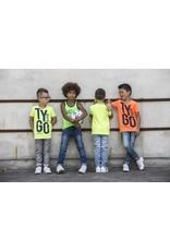 TYGO & vito TYGO & vito jongens t-shirt Neon T&V
