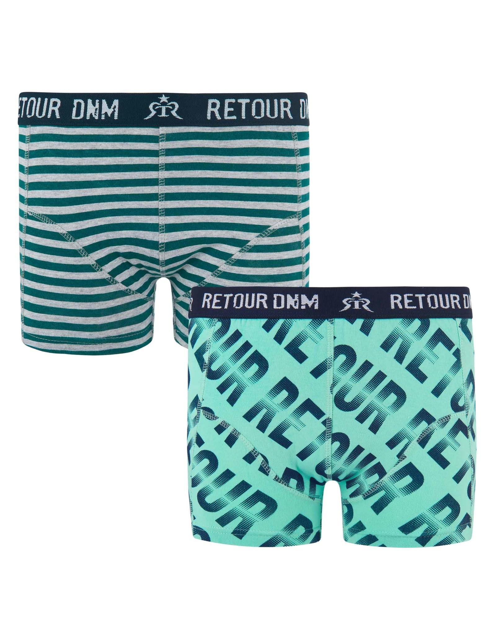 RETOUR RETOUR jongens 2 pack boxers Quint