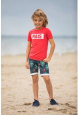 NAIS NAIS jongens t-shirt Carlo Red