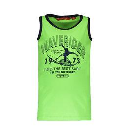 TYGO & vito TYGO & vito jongens hemd Waverider Green Gecko
