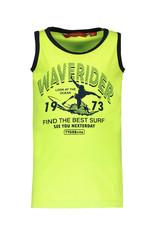 TYGO & vito TYGO & vito jongens hemd Waverider Safety Yellow