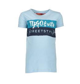 TYGO & vito TYGO & vito jongens t-shirt Streetstyle