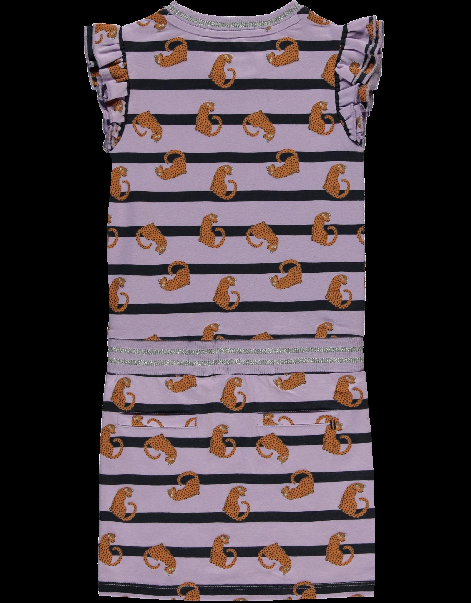 Quapi Quapi meisjes jurk Sezina Lila