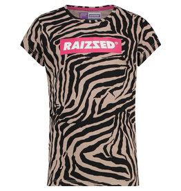 Raizzed RAIZZED meiden t-shirt Honolulu Zebra