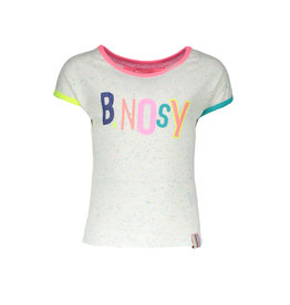 B.Nosy B.Nosy meisjes t-shirt Rainbow Melee With Color Artwork