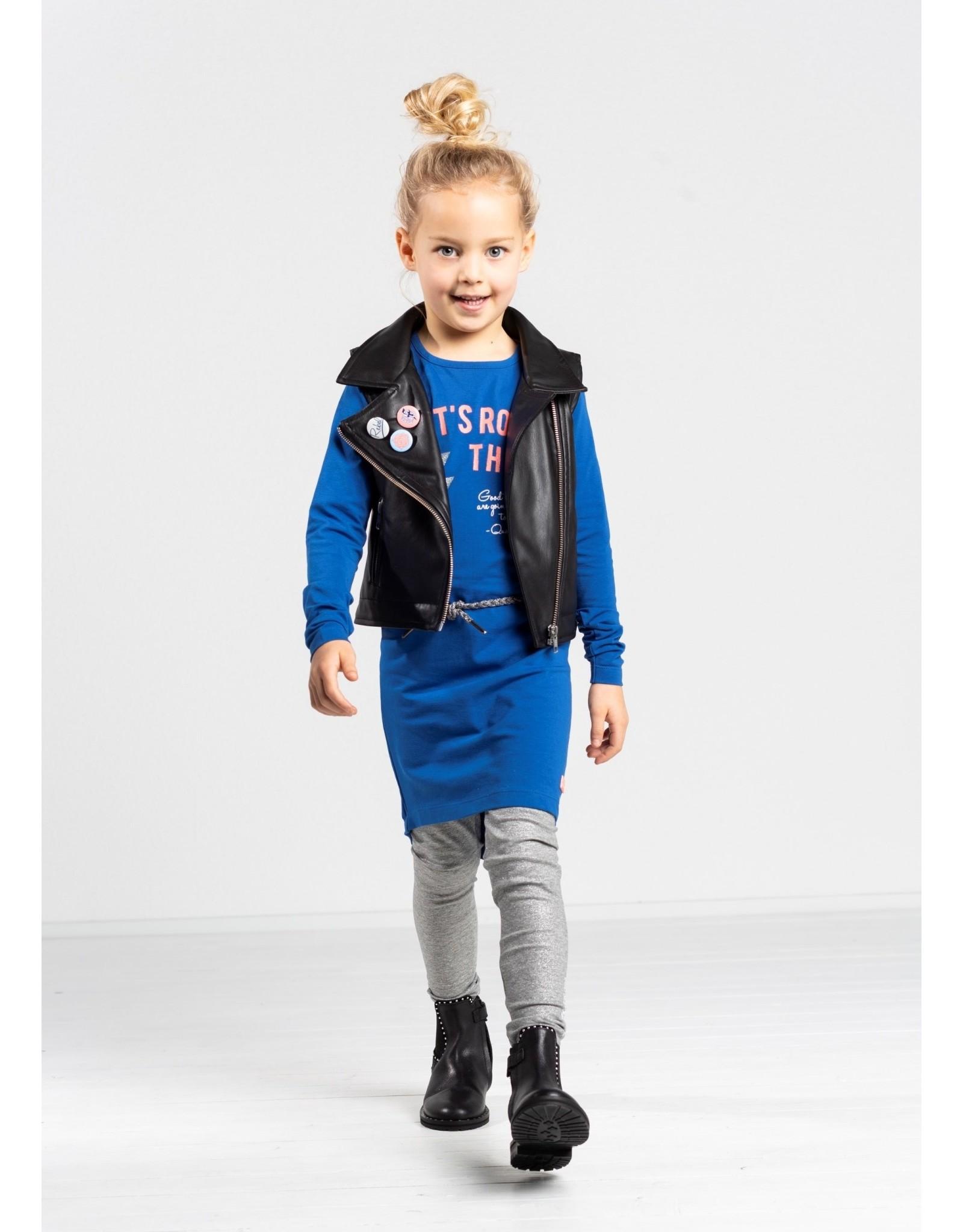 Quapi Quapi meisjes jurk Tamia Blue