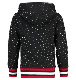 Vingino Vingino meiden hoodie Naroda Black