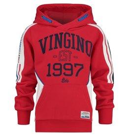 Vingino Vingino jongens hoodie Njan Red