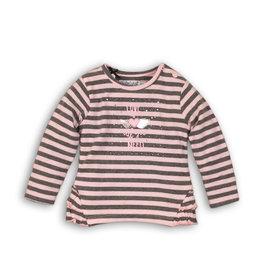Dirkje Dirkje baby meisjes t-shirt  LOVE