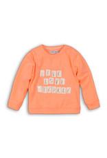 Dirkje Dirkje baby meisjes shirt GOOD VIBES