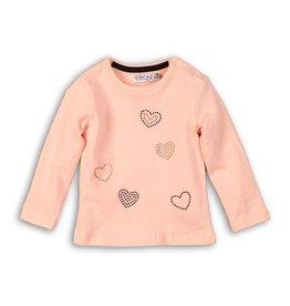 Dirkje Dirkje baby meisjes shirt GIRL POWER