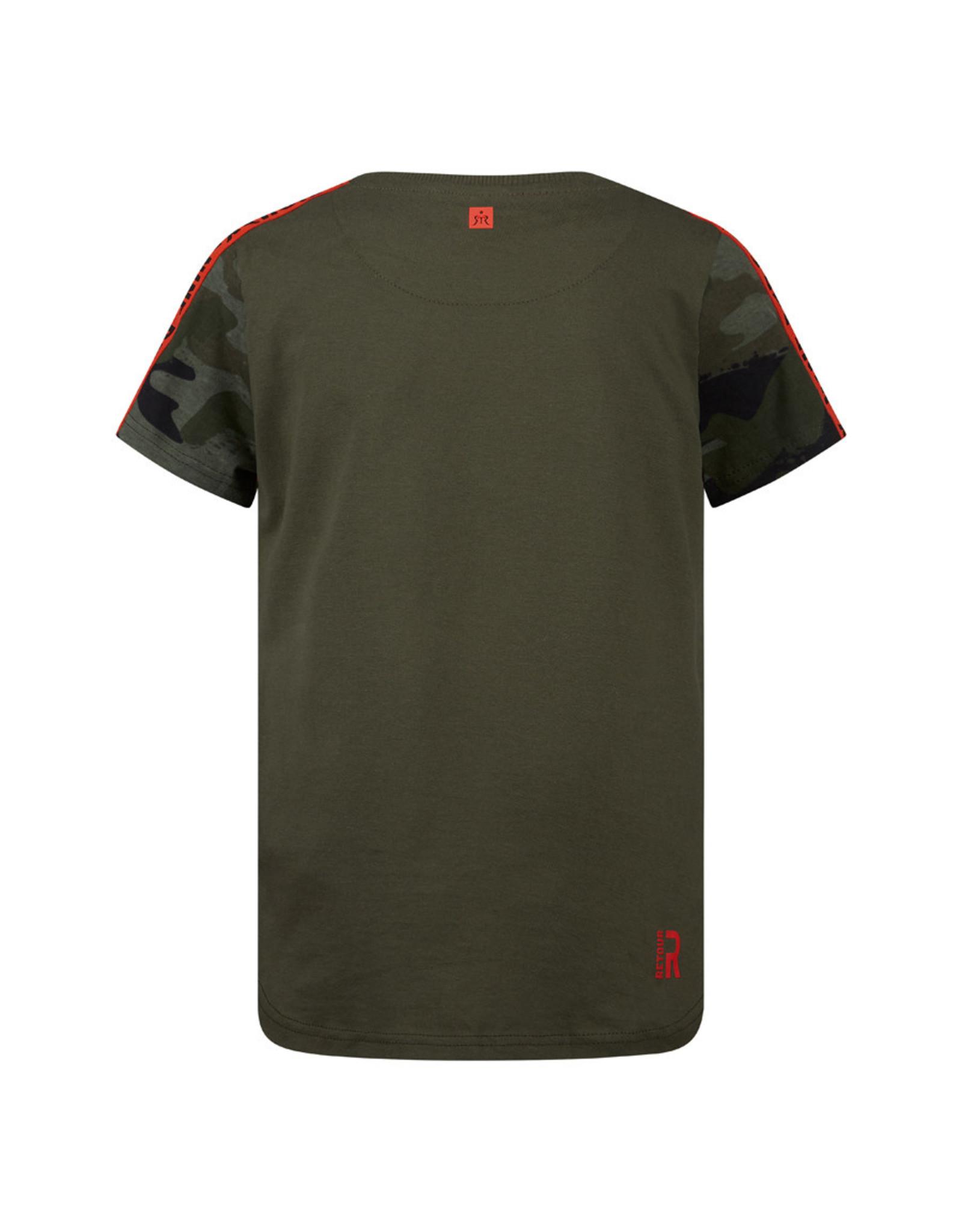 RETOUR Retour jongens t-shirt Moos