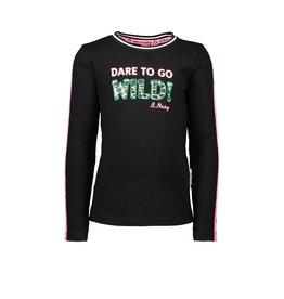 B.Nosy B.Nosy meisjes shirt Dare To Go Wild