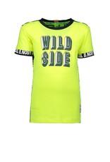 B.Nosy B.Nosy jongens t-shirt Wild Side Yellow