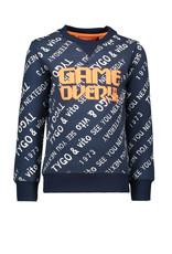 TYGO & vito TYGO & vito jongens sweater AOP GAME OVER