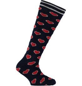 Quapi Quapi meisjes sokken Trixy Navy Hearts