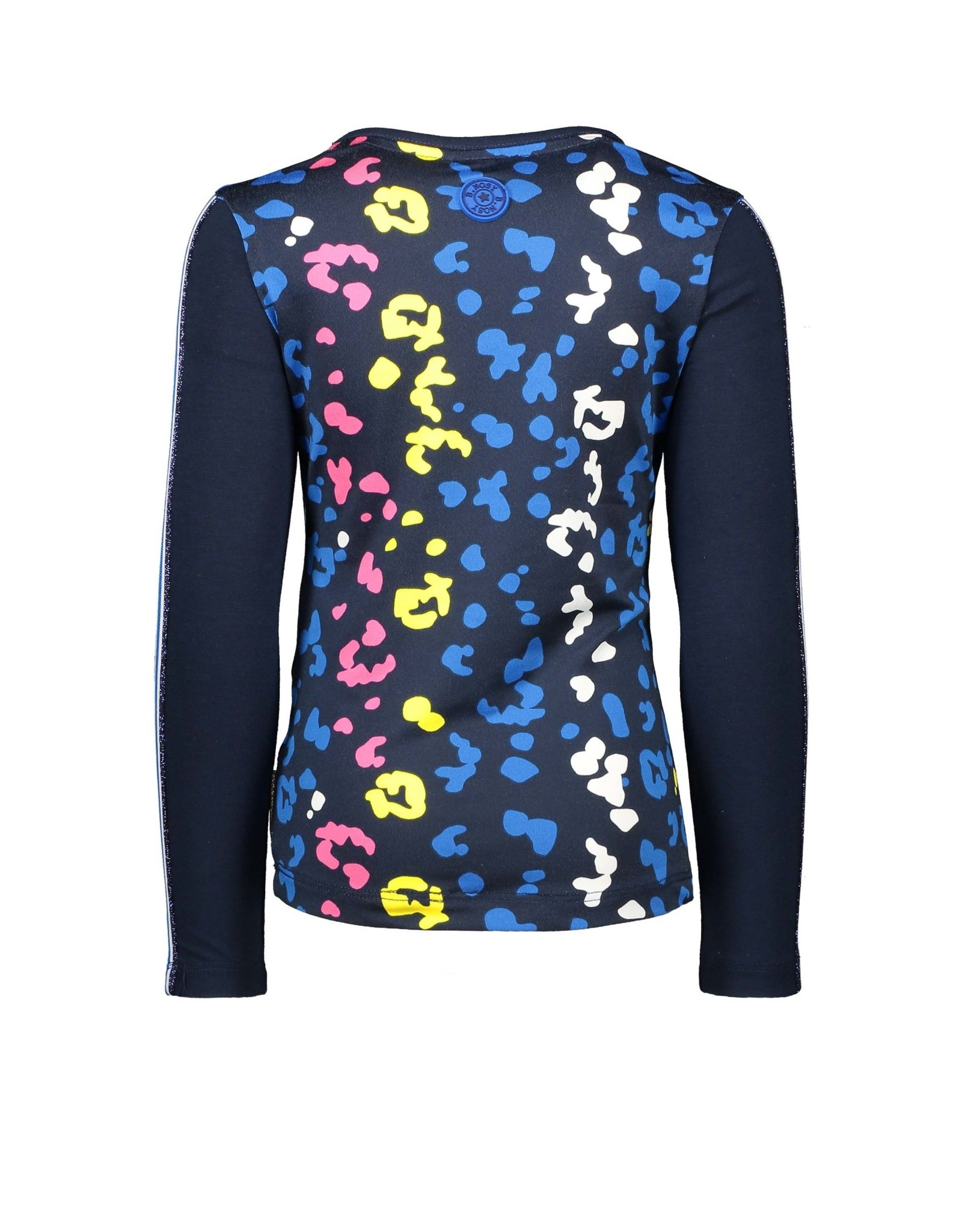B.Nosy B.Nosy meisjes shirt met panterprint