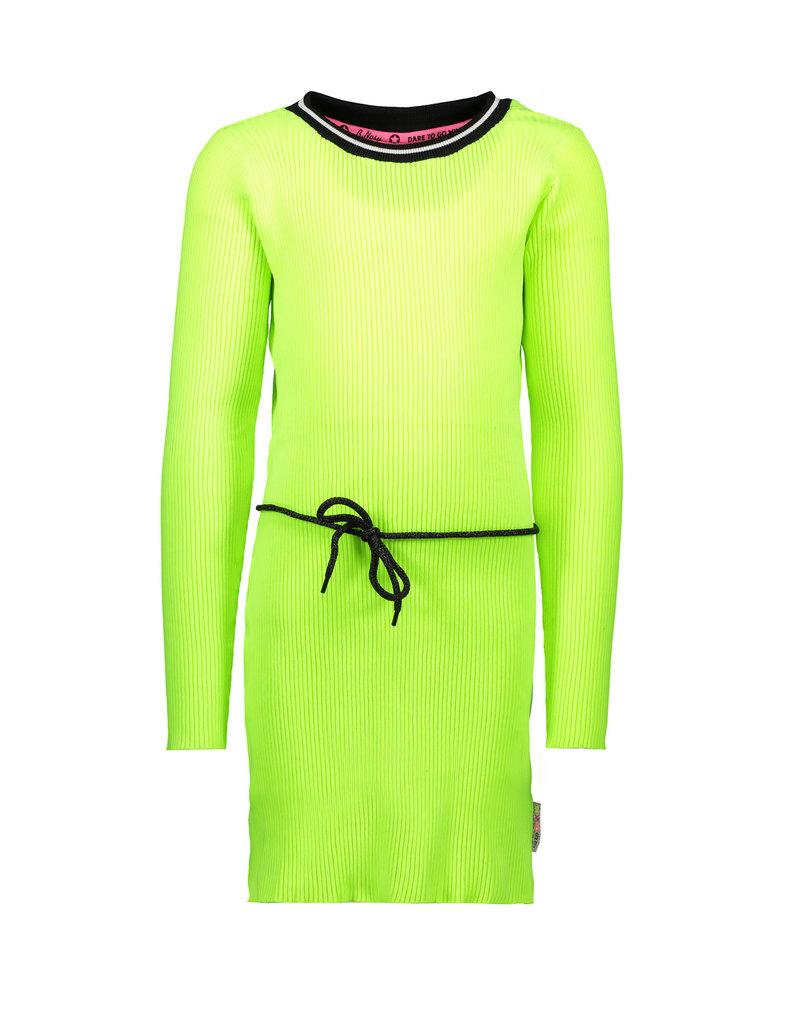 B.Nosy B.Nosy meisjes rib jurk met centuur