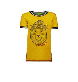 B.Nosy B.Nosy jongens t-shirt met beer
