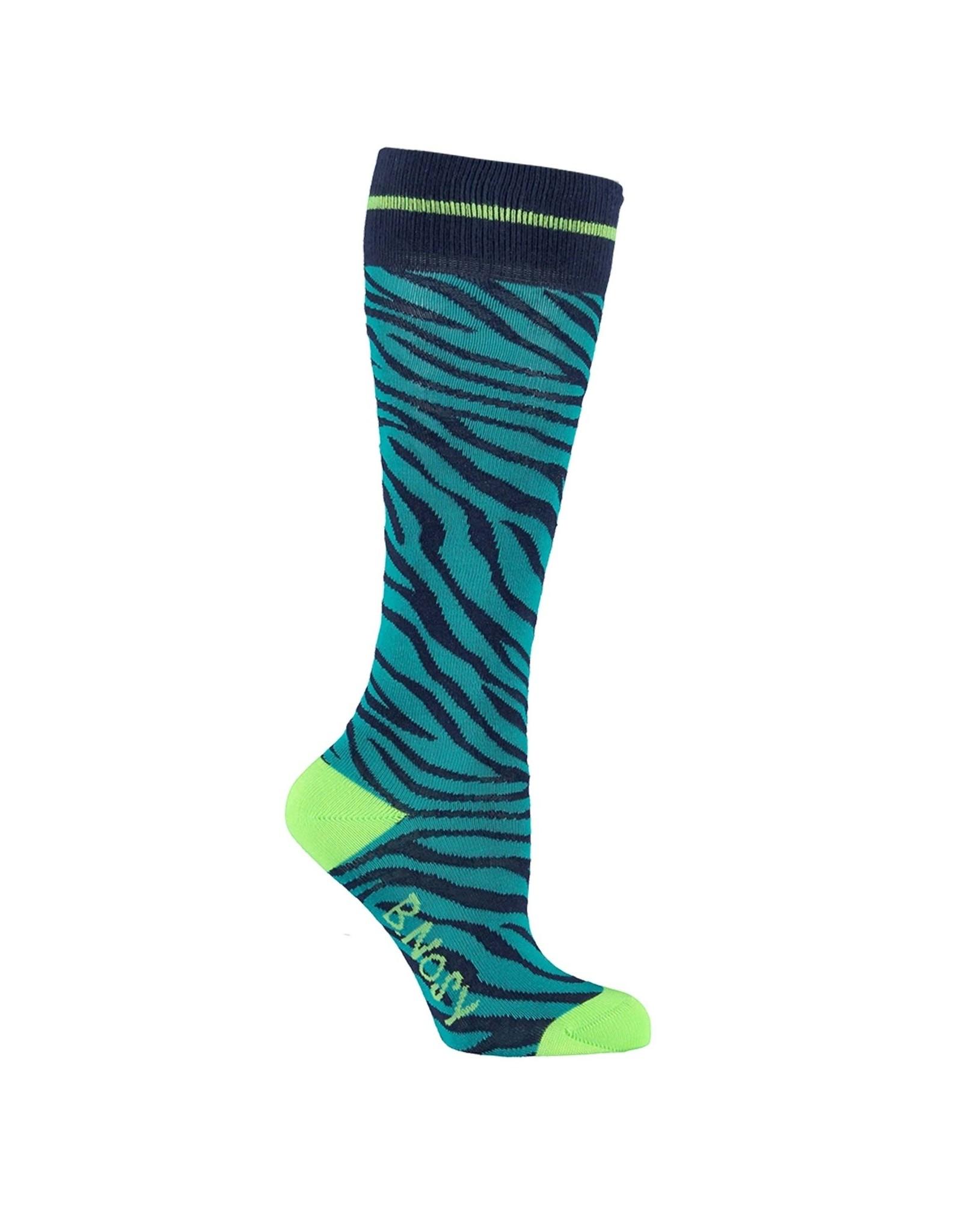 B.Nosy B.Nosy meisjes sokken zebra groen