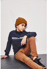 Bellaire Bellaire jongens sweater met rits Kass