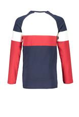 Bellaire Bellaire jongens color block shirt Kas